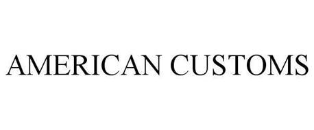 AMERICAN CUSTOMS