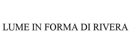 LUME IN FORMA DI RIVERA