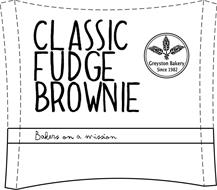 CLASSIC FUDGE BROWNIE BAKERS ON A MISSION GREYSTON BAKERY SINCE 1982