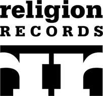 RELIGION RECORDS RR