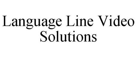 LANGUAGE LINE VIDEO SOLUTIONS