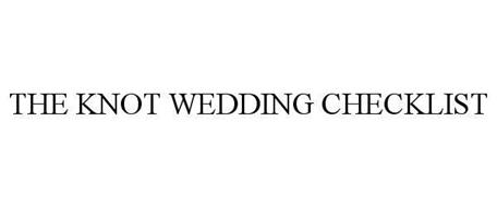 THE KNOT WEDDING CHECKLIST