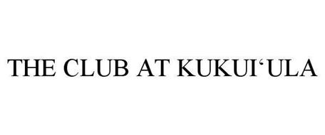 THE CLUB AT KUKUI'ULA