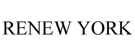 RENEW YORK