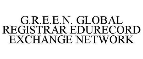 G.R.E.E.N. GLOBAL REGISTRAR EDURECORD EXCHANGE NETWORK