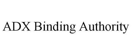 ADX BINDING AUTHORITY
