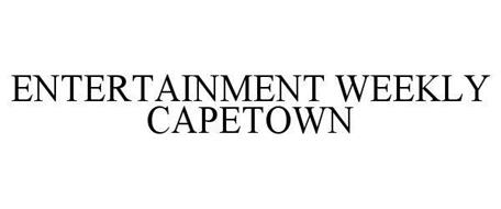 ENTERTAINMENT WEEKLY CAPETOWN