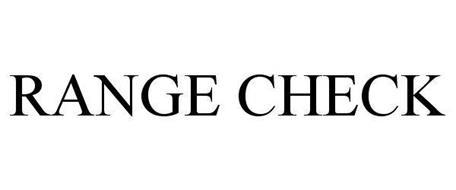 RANGE CHECK