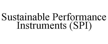 SUSTAINABLE PERFORMANCE INSTRUMENTS (SPI)