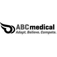 ABC MEDICAL ADAPT. BELIEVE. COMPETE.
