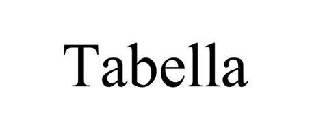 TABELLA TABLES