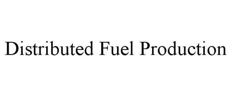 DISTRIBUTED FUEL PRODUCTION