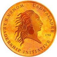 CADWALADER WOMEN'S LEADERSHIP INITIATIVE 1792