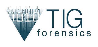 TIG FORENSICS DIGITAL INVESTIGATIONS & SECURITY