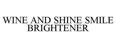 WINE AND SHINE SMILE BRIGHTENER