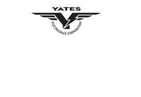 YSE YATES ELECTROSPACE CORPORATION