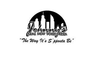 NY JOHNNY'S REAL NEW YORK PIZZA