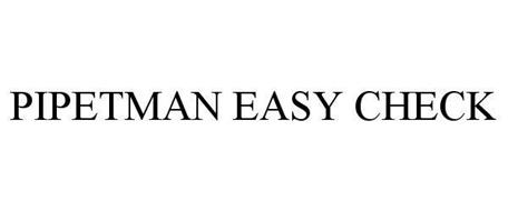 PIPETMAN EASY CHECK