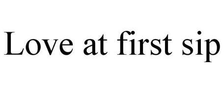LOVE AT FIRST SIP