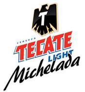 T CERVEZA TECATE LIGHT MICHELADA