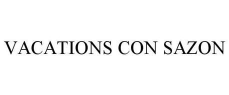 VACATIONS CON SAZON