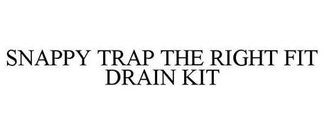 SNAPPYTRAP THE RIGHT FIT DRAIN KIT