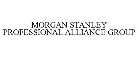 MORGAN STANLEY PROFESSIONAL ALLIANCE GROUP