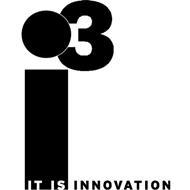 I3 IT IS INNOVATION