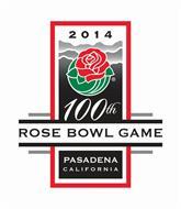 2014 100TH ROSE BOWL GAME PASADENA CALIFORNIA