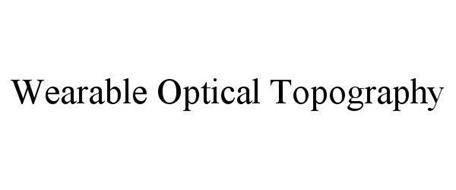 WEARABLE OPTICAL TOPOGRAPHY