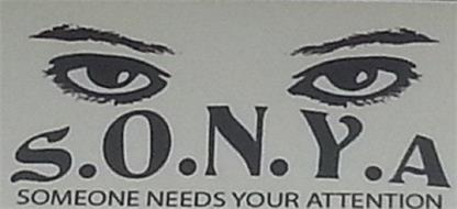 S.O.N.Y.A SOMEONE NEEDS YOUR ATTENTION