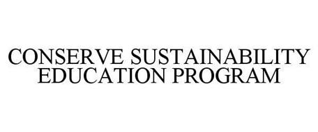 CONSERVE SUSTAINABILITY EDUCATION PROGRAM