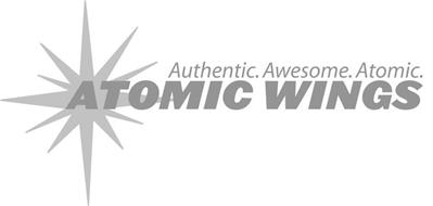 AUTHENTIC. AWESOME. ATOMIC. ATOMIC WINGS
