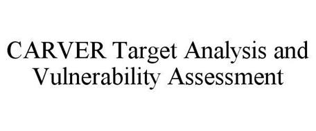 CARVER TARGET ANALYSIS AND VULNERABILITY ASSESSMENT