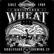 SINCE 1989 BOULEVARD BREWING CO. · UNFILTERED · WHEAT BEER KANSAS CITY MISSOURI