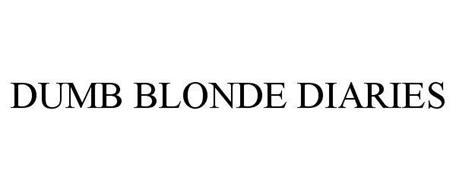 DUMB BLONDE DIARIES