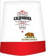 ULTRA PREMIUM CALIFORNIA CROWN CLUB WHISKY CALIFORNIA REPUBLIC