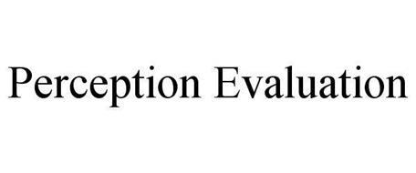 PERCEPTION EVALUATION