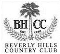 BHCC EST 1926 BEVERLY HILLS COUNTRY CLUB