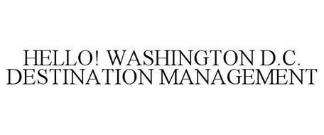 HELLO! WASHINGTON D.C. DESTINATION MANAGEMENT