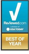 REVIEWED.COM A DIVISION OF USA TODAY BEST OF YEAR