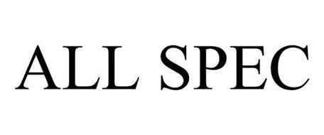 ALL SPEC