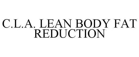 C.L.A. LEAN BODY FAT REDUCTION