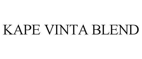 KAPE VINTA BLEND