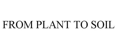 FROM PLANT TO SOIL