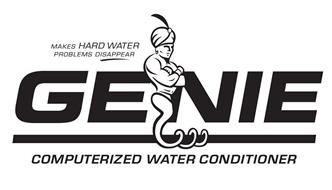 GENIE COMPUTERIZED WATER CONDITIONER MAKES HARD WATER PROBLEMS DISAPPEAR
