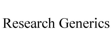 RESEARCH GENERICS