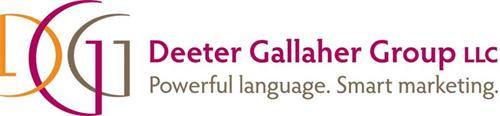 DGG DEETER GALLAHER GROUP LLC POWERFUL LANGUAGE. SMART MARKETING.