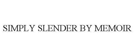 SIMPLY SLENDER BY MEMOIR