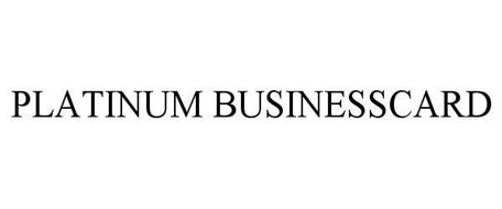 PLATINUM BUSINESSCARD
